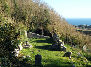 Ruins of St Andrew's Church